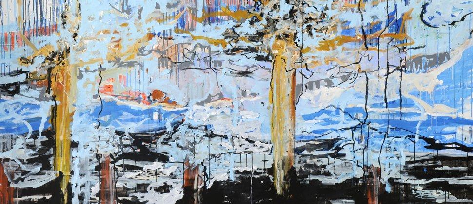 Aldo CRISTOFARO | Whats up, 2010, Acryl auf Leinwand, 160 x 240 cm