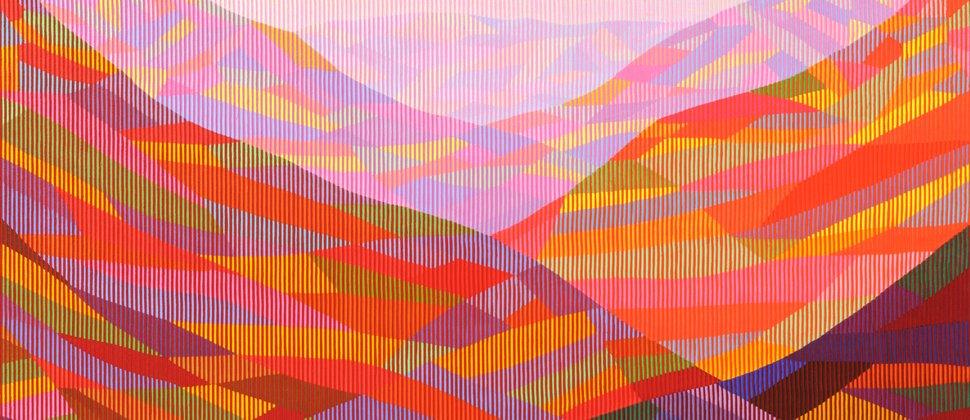 Antonio MARRA | Das Glücksgefühl lässt sich noch steigern, 2011, Verso signiert, Acryl mit Pigment auf Zellulose auf Leinwand, 90 x 120 cm