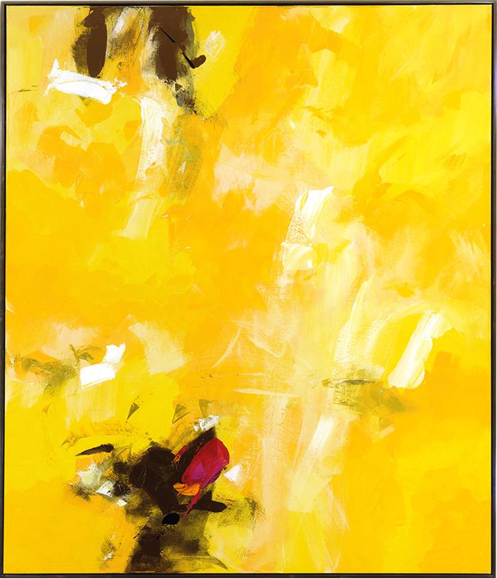 Indien/Rajasthan, 2006, Acryl on canvas, 120 x 140 cm
