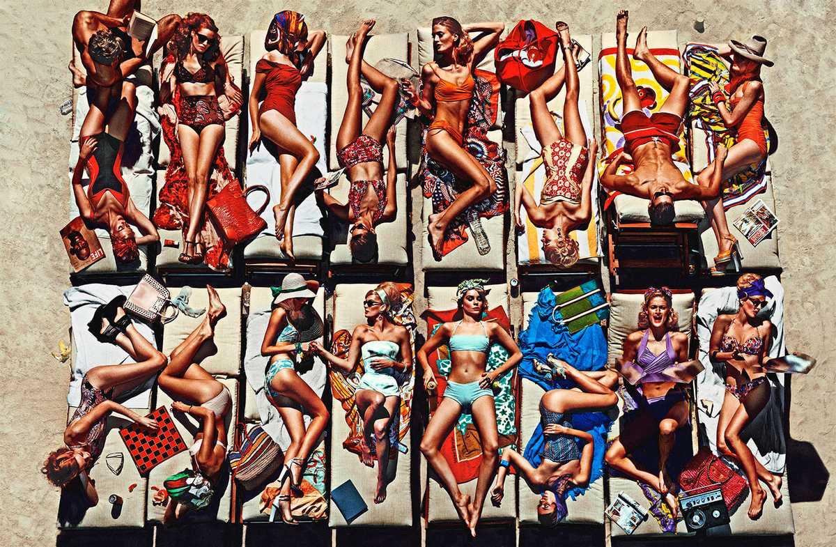Flamingo Kids 2, 2012, Lambda fotografischer Abzug, 100 x 153 cm
