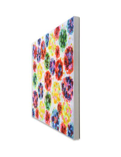 Das Leben ist hart, der Maler hilft, 2011, Verso signiert, Acryl auf Leinwand, 90 x 120 cm, rechts